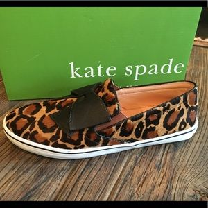 New With Box Kate Spade Slip On Shoes