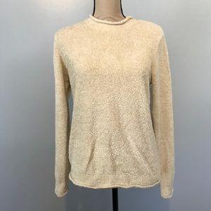 Croft & Barrow cream color sweater.