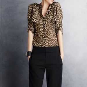 The limited leopard blouse - New