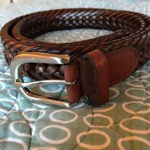 Men's 36/90 leather belt