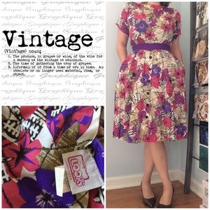 Vintage The Look 👀 1980's Dress