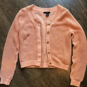 H&M knitted cardigan!!