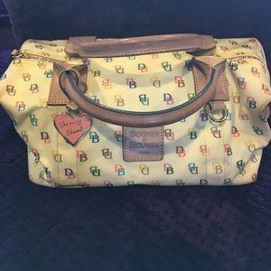 Dooney & Bourke multi colored purse