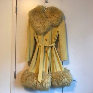 INCREDIBLE Vintage fur coat