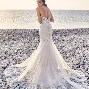 8bbcc7316a4 eddy k Dresses - Eddy K designer wedding gown. Wedding dress