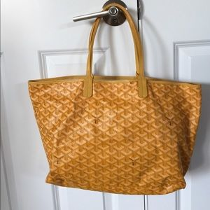 Goyard St. Louis PM Tote Yellow
