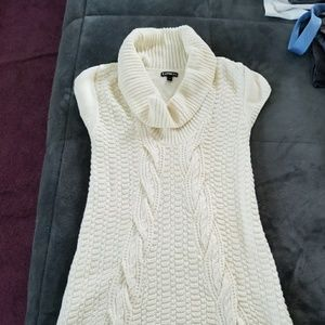 Xs express long sweater