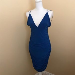 Blue women dress