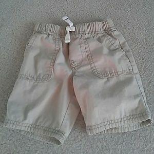 Carter's Toddler Boys 3T Khaki Shorts