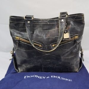 Authentic DOONEY & BOURKE 1975 Leather Tote