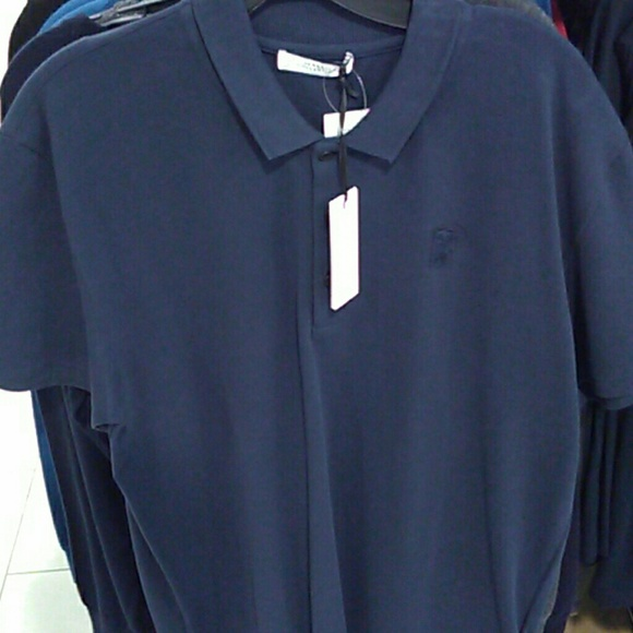 c10d46ea Versace Shirts | Polo Navy Blue | Poshmark
