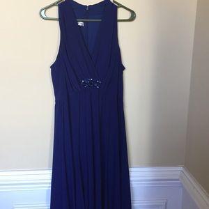 Evan Picone Navy Dress