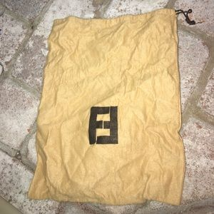 Used Fendi Dust Bag