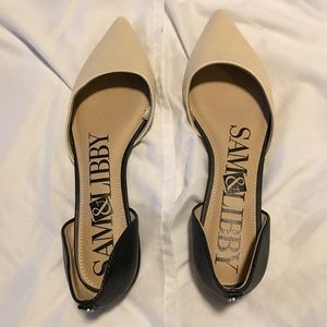 Brand new Sam & Libby D'Orsay flats