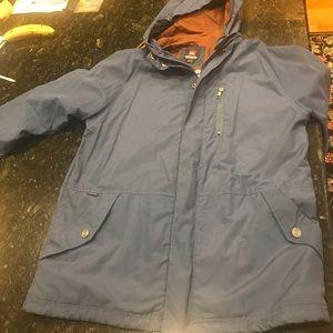 Men's quicksilver light jacket size medium