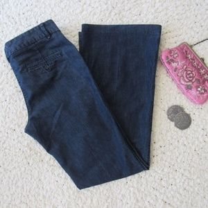Express Editor Trouser Jeans Size 8L Stretch