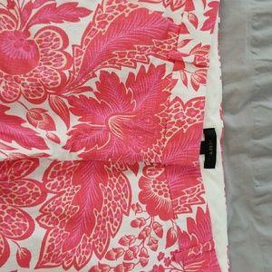 Jcrew 6 pink white cotton shorts