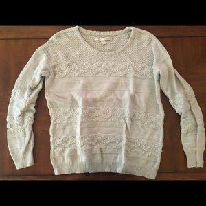 Light Mint Knit Sweater