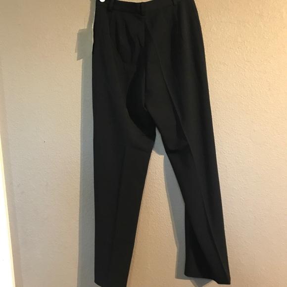 cc5112f0cc2f Sz 4P Black Rafaella Ladies Dress Slacks Pants NWT
