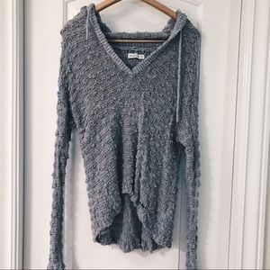 NWOT Abercrombie sweater with hood