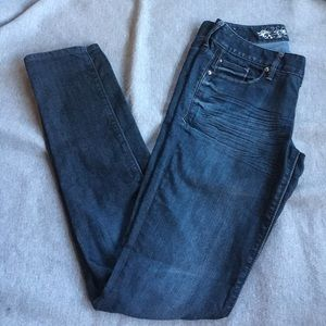 Express Stella jeans size 0 regular fit low rise