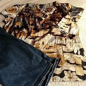 Lane bryant dress top