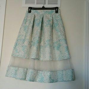 Asos skirt  with sheer panel
