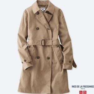 WOMEN UNIQLO TRENCH COAT