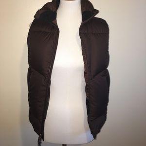 Ralph Lauren Brown Puffer Vest Size Small
