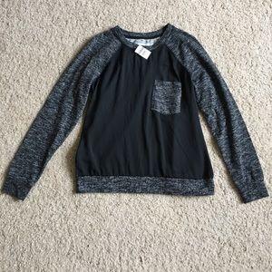 NWT Lou & Grey Sweatshirt Sz Small