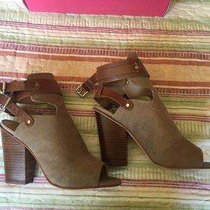 Just Fab bootie heels