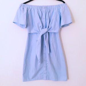 FOREVER21 CONTEMPORARY ~ baby blue dress