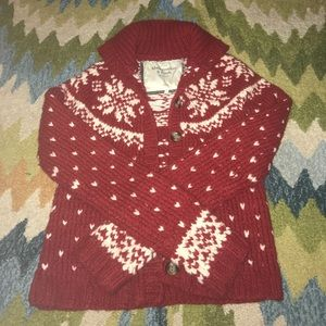 Abercrombie & Fitch holiday sweater