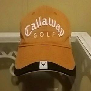 Orange White Callaway FT-3 HX Tour Adjus Strap
