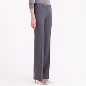 J. Crew BROWN pattern Favorite Fit pants