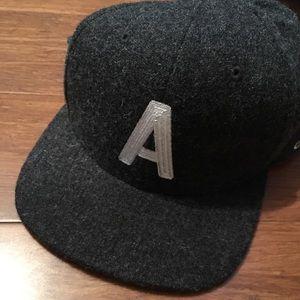 Active Wool Charcoal SnapBack Hat