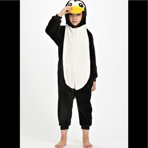 Other - Girls Penguin onsie pajamas 10/12