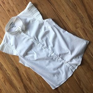 White fitted BeBe top