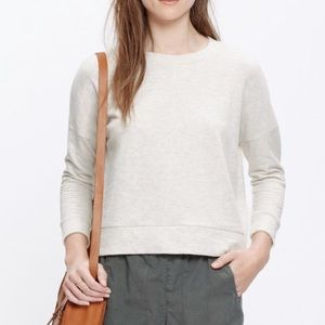 Madewell Heathered City Island Pullover Top Large