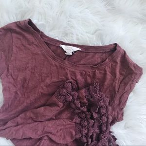 Nordstrom lace Tunic Top