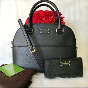 ♥️ kate spade satchel and wallet ♥️