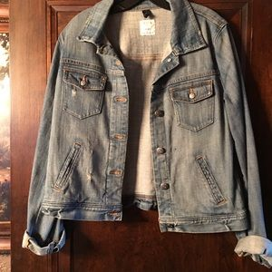 J crew denied jacket size M