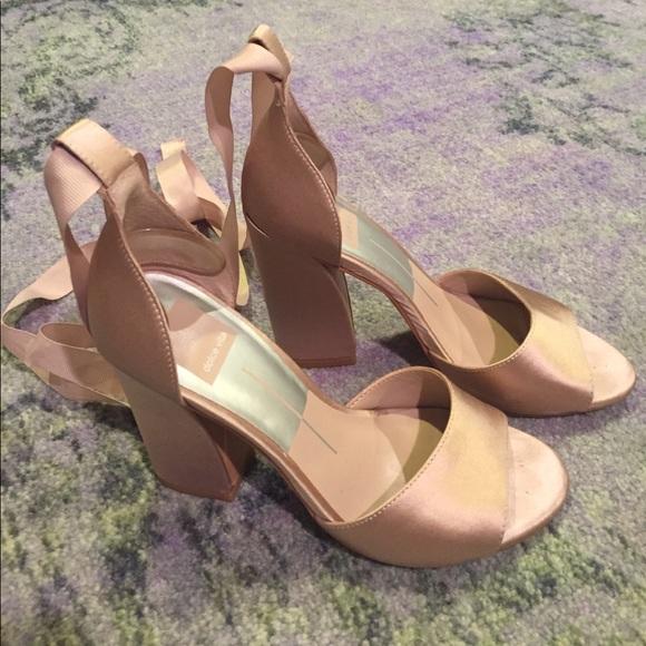 eb8fcc6ae54 Dolce Vita Shoes - Dolce Vita Harvey Satin Heel - Rose