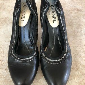 Authentic Chanel shoes