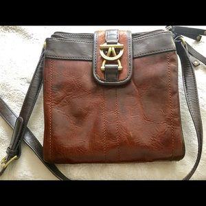 Tignanello Brown Crossbody Bag