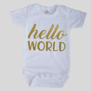 Other - Handmade Baby Coming Home Onesie