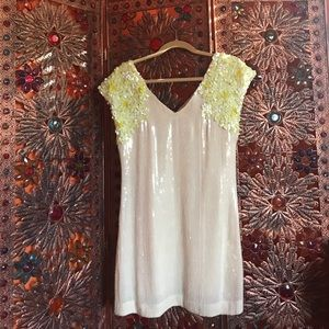 Free People sequin flapper dress size 0