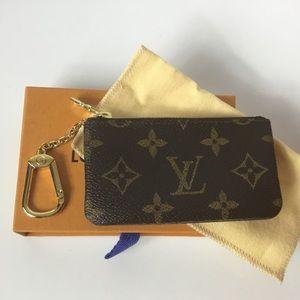 100% Authentic Louis Vuitton 1988  Cles Key Pouch