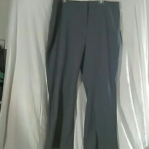 Grey dress pants plus size 18