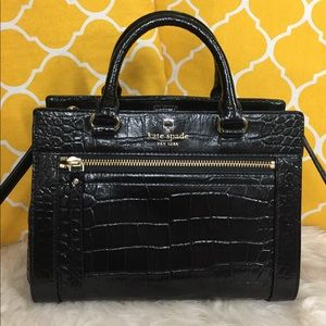 🌸OFFERS?🌸Kate Spade All Leather Embossed Satchel